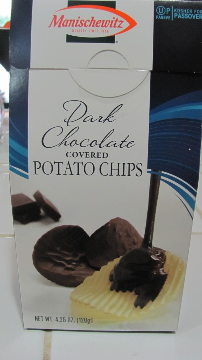 Dark Chocolate Covered Potato Chips