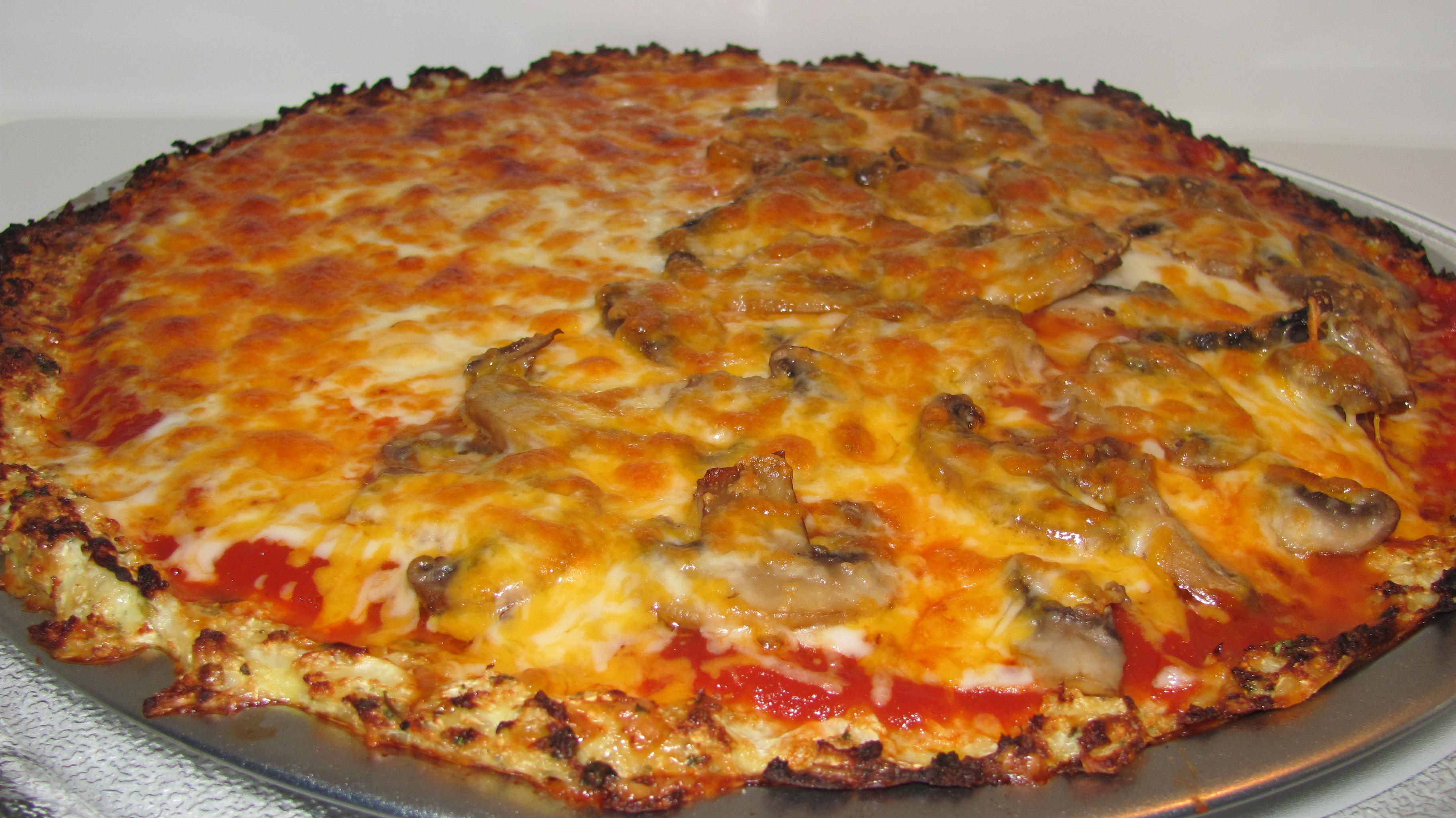Cauliflower Pizza Crust for Passover   Kosher Treif Cooking