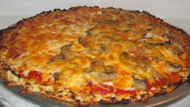 Cauliflower Crust Pizza for Passover