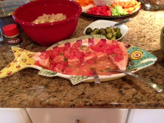 Salmon with Grapefruit