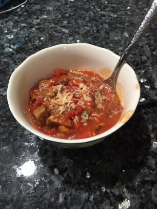 Lasagna soup 2