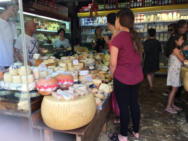 The next few photos are from Hacarmael Market in Tel Aviv. We were amazed by the shops full of cheese, bread, fruits, vegetables and more.