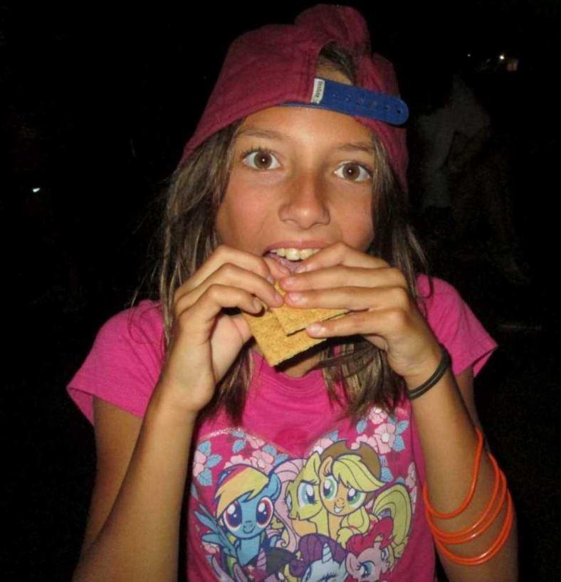 Zoe at Camp 080216